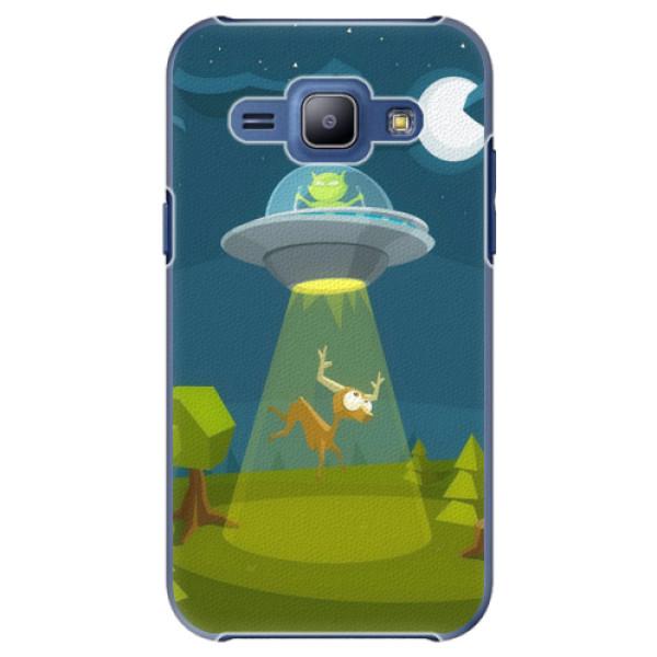 Plastové pouzdro iSaprio - Alien 01 - Samsung Galaxy J1