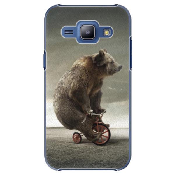 Plastové pouzdro iSaprio - Bear 01 - Samsung Galaxy J1