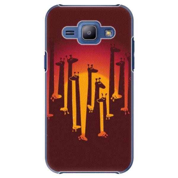 Plastové pouzdro iSaprio - Giraffe 01 - Samsung Galaxy J1