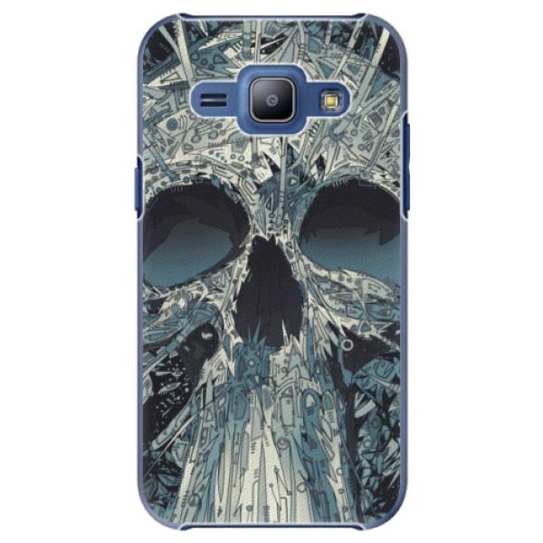 Plastové pouzdro iSaprio - Abstract Skull - Samsung Galaxy J1