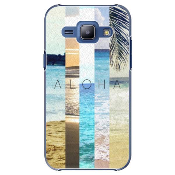 Plastové pouzdro iSaprio - Aloha 02 - Samsung Galaxy J1