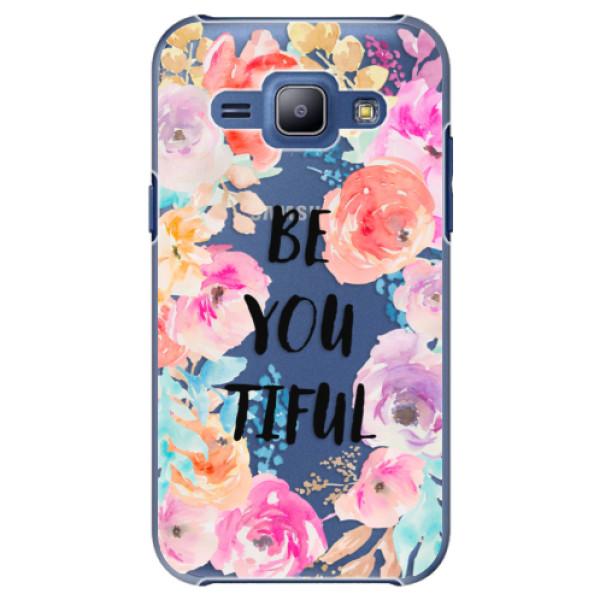 Plastové pouzdro iSaprio - BeYouTiful - Samsung Galaxy J1