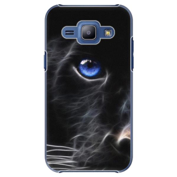 Plastové pouzdro iSaprio - Black Puma - Samsung Galaxy J1