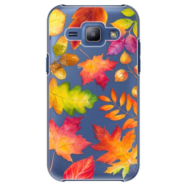 Plastové pouzdro iSaprio - Autumn Leaves 01 - Samsung Galaxy J1