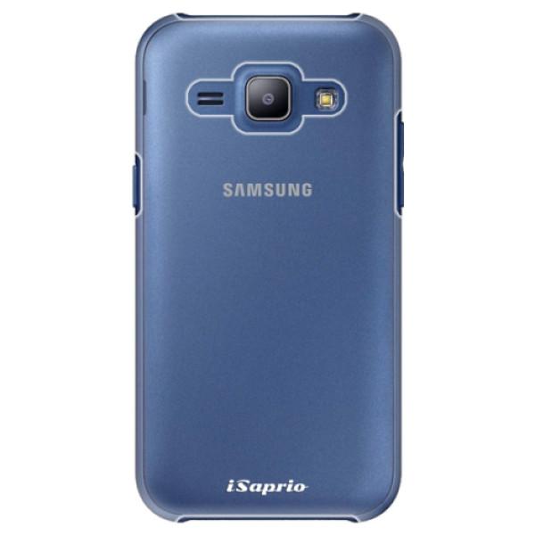 Plastové pouzdro iSaprio - 4Pure - mléčný bez potisku - Samsung Galaxy J1