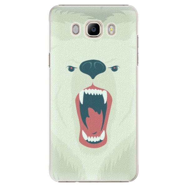 Plastové pouzdro iSaprio - Angry Bear - Samsung Galaxy J7 2016