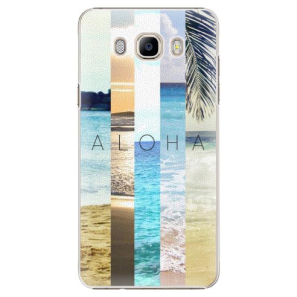 Plastové pouzdro iSaprio - Aloha 02 - Samsung Galaxy J7 2016