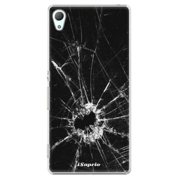 Plastové pouzdro iSaprio - Broken Glass 10 - Sony Xperia Z3+ / Z4