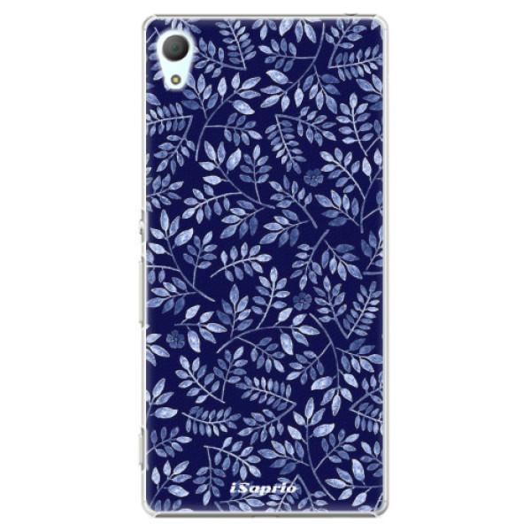 Plastové pouzdro iSaprio - Blue Leaves 05 - Sony Xperia Z3+ / Z4
