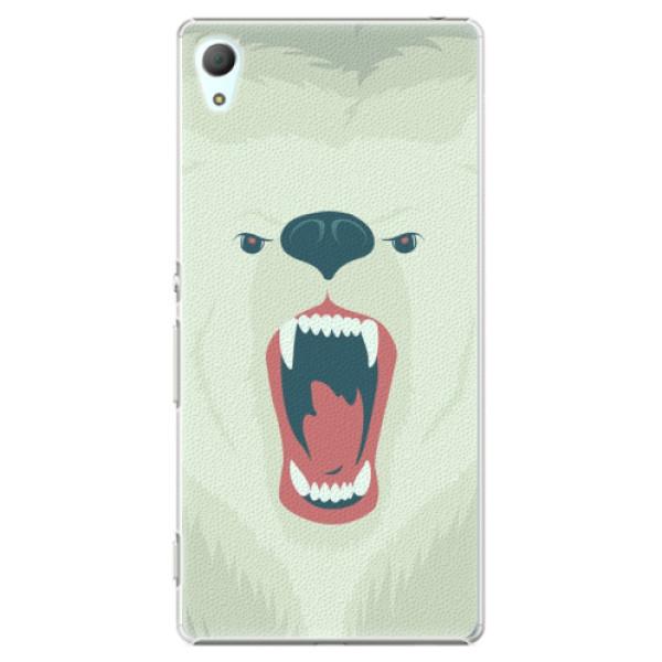 Plastové pouzdro iSaprio - Angry Bear - Sony Xperia Z3+ / Z4