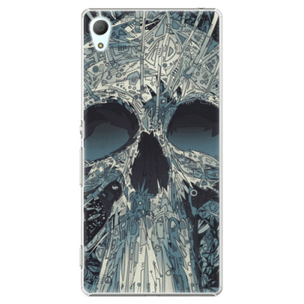 Plastové pouzdro iSaprio - Abstract Skull - Sony Xperia Z3+ / Z4
