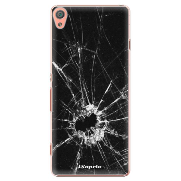 Plastové pouzdro iSaprio - Broken Glass 10 - Sony Xperia XA