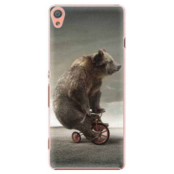 Plastové pouzdro iSaprio - Bear 01 - Sony Xperia XA