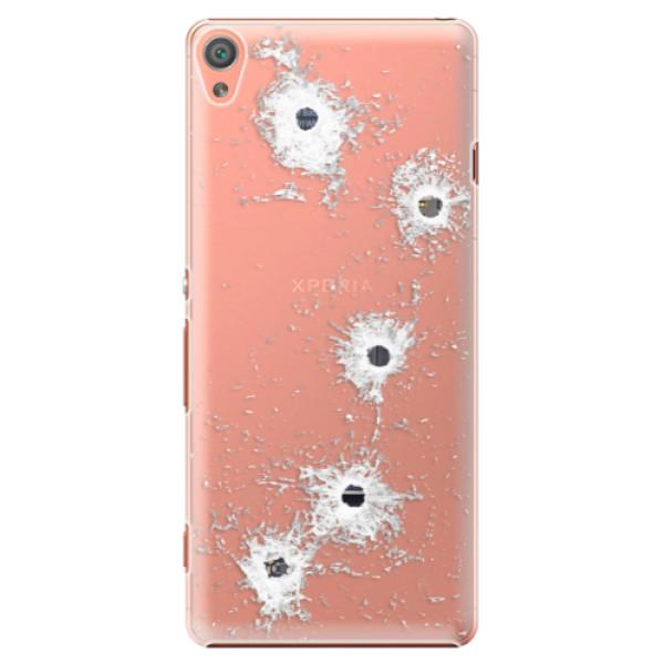 Plastové pouzdro iSaprio - Gunshots - Sony Xperia XA
