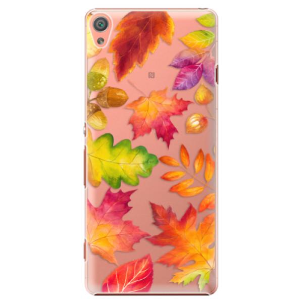 Plastové pouzdro iSaprio - Autumn Leaves 01 - Sony Xperia XA