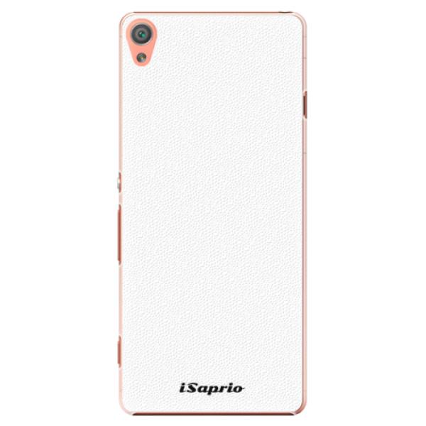 Plastové pouzdro iSaprio - 4Pure - bílý - Sony Xperia XA