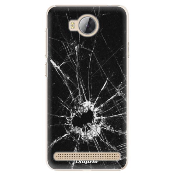 Plastové pouzdro iSaprio - Broken Glass 10 - Huawei Y3 II