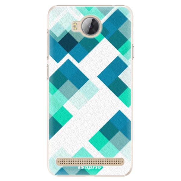 Plastové pouzdro iSaprio - Abstract Squares 11 - Huawei Y3 II