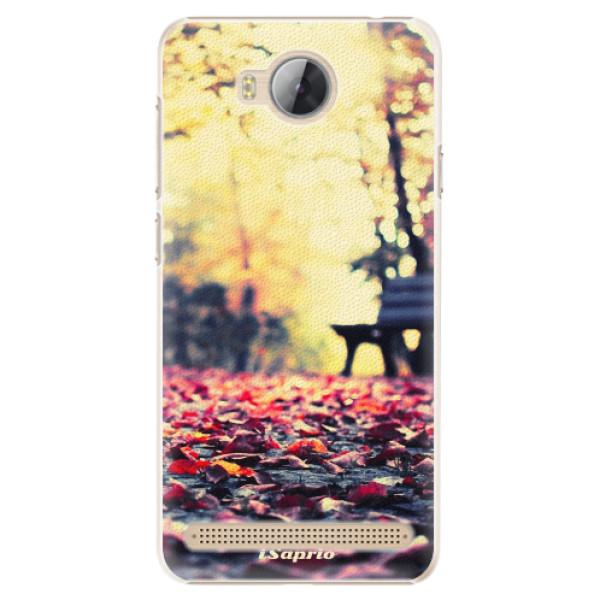 Plastové pouzdro iSaprio - Bench 01 - Huawei Y3 II