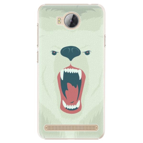 Plastové pouzdro iSaprio - Angry Bear - Huawei Y3 II