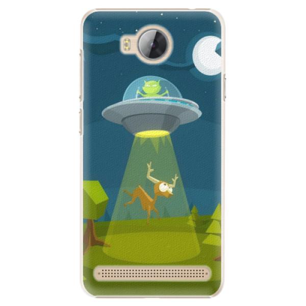 Plastové pouzdro iSaprio - Alien 01 - Huawei Y3 II