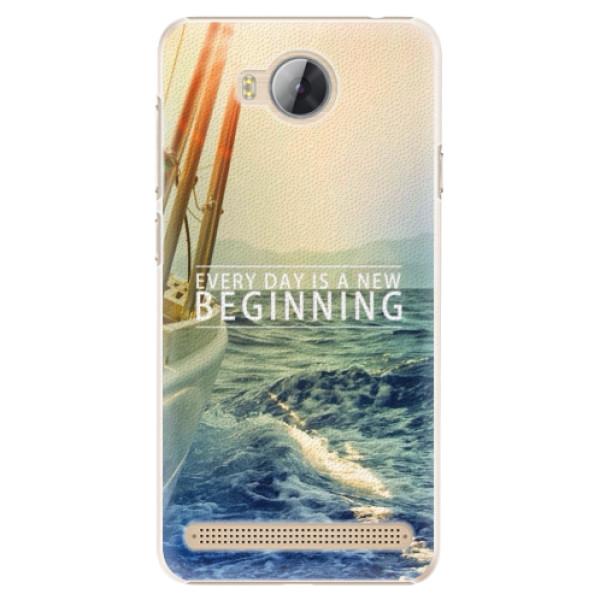 Plastové pouzdro iSaprio - Beginning - Huawei Y3 II