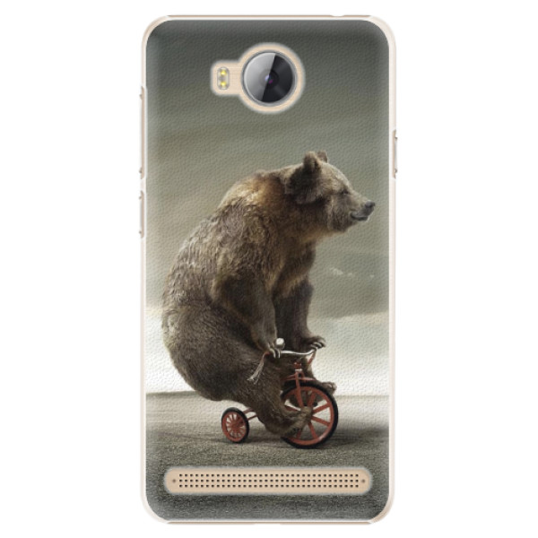 Plastové pouzdro iSaprio - Bear 01 - Huawei Y3 II