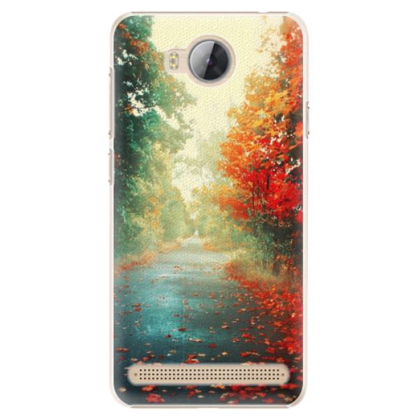Plastové pouzdro iSaprio - Autumn 03 - Huawei Y3 II