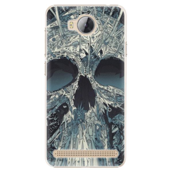 Plastové pouzdro iSaprio - Abstract Skull - Huawei Y3 II