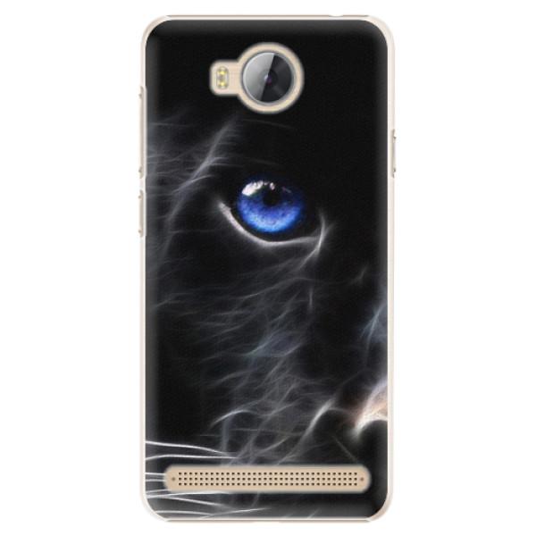 Plastové pouzdro iSaprio - Black Puma - Huawei Y3 II