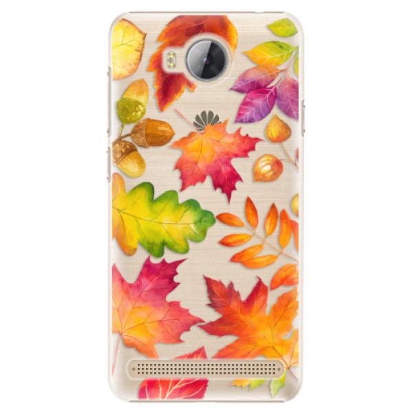 Plastové pouzdro iSaprio - Autumn Leaves 01 - Huawei Y3 II
