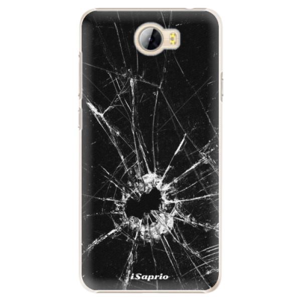 Plastové pouzdro iSaprio - Broken Glass 10 - Huawei Y5 II / Y6 II Compact
