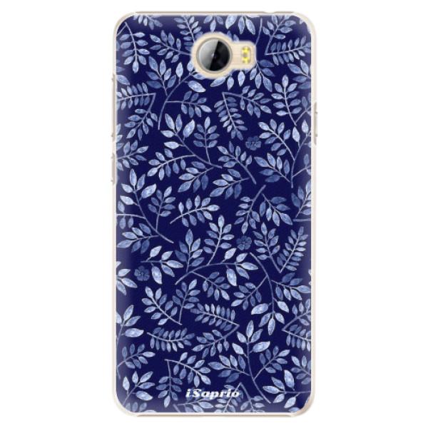 Plastové pouzdro iSaprio - Blue Leaves 05 - Huawei Y5 II / Y6 II Compact