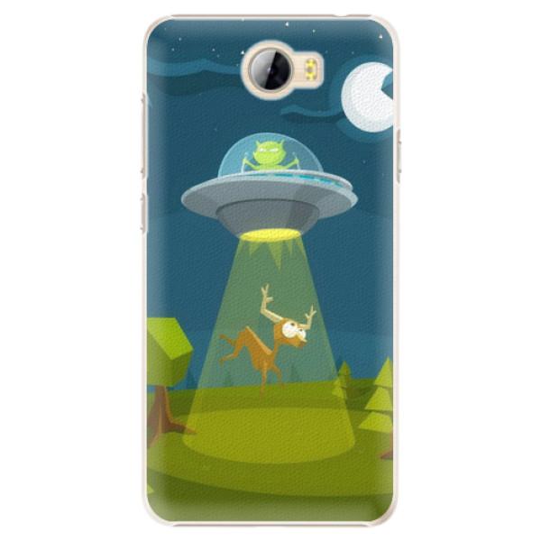 Plastové pouzdro iSaprio - Alien 01 - Huawei Y5 II / Y6 II Compact
