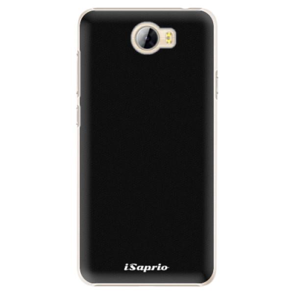 Plastové pouzdro iSaprio - 4Pure - černý - Huawei Y5 II / Y6 II Compact