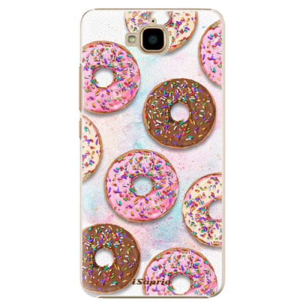Plastové pouzdro iSaprio - Donuts 11 - Huawei Y6 Pro
