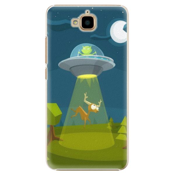 Plastové pouzdro iSaprio - Alien 01 - Huawei Y6 Pro