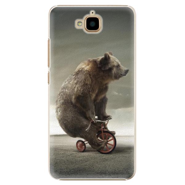 Plastové pouzdro iSaprio - Bear 01 - Huawei Y6 Pro