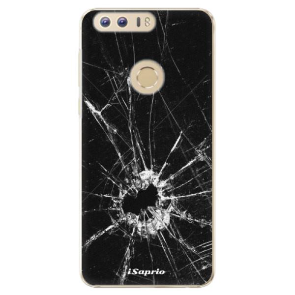 Plastové pouzdro iSaprio - Broken Glass 10 - Huawei Honor 8