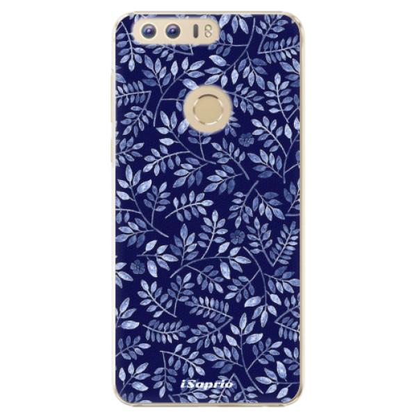 Plastové pouzdro iSaprio - Blue Leaves 05 - Huawei Honor 8