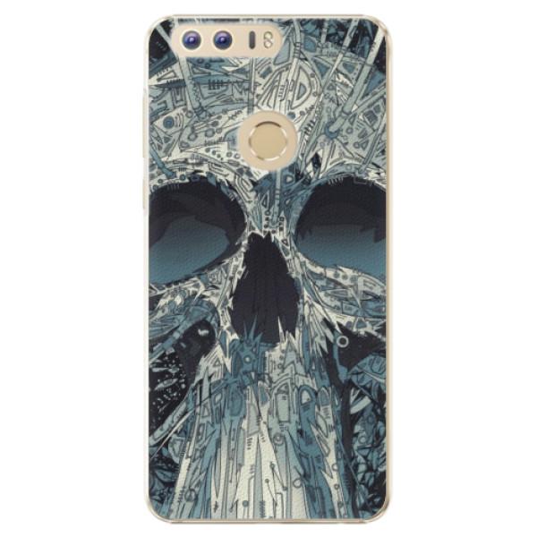 Plastové pouzdro iSaprio - Abstract Skull - Huawei Honor 8