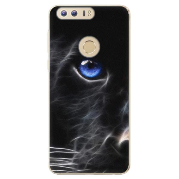 Plastové pouzdro iSaprio - Black Puma - Huawei Honor 8