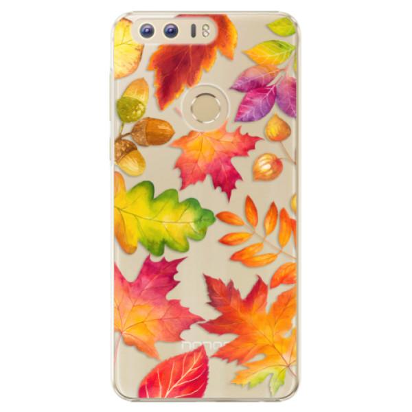 Plastové pouzdro iSaprio - Autumn Leaves 01 - Huawei Honor 8