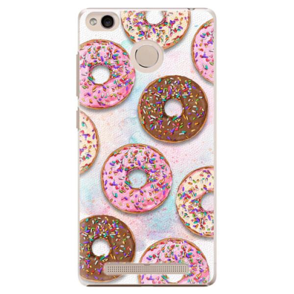 Plastové pouzdro iSaprio - Donuts 11 - Xiaomi Redmi 3S