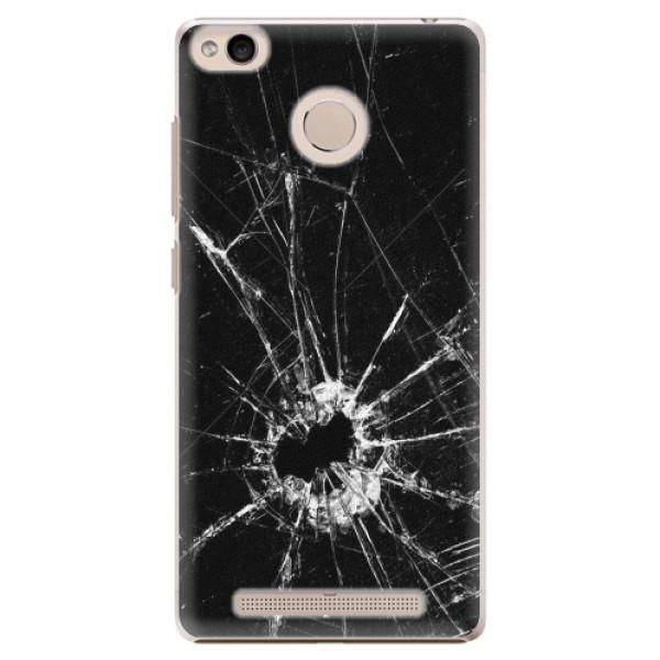 Plastové pouzdro iSaprio - Broken Glass 10 - Xiaomi Redmi 3S