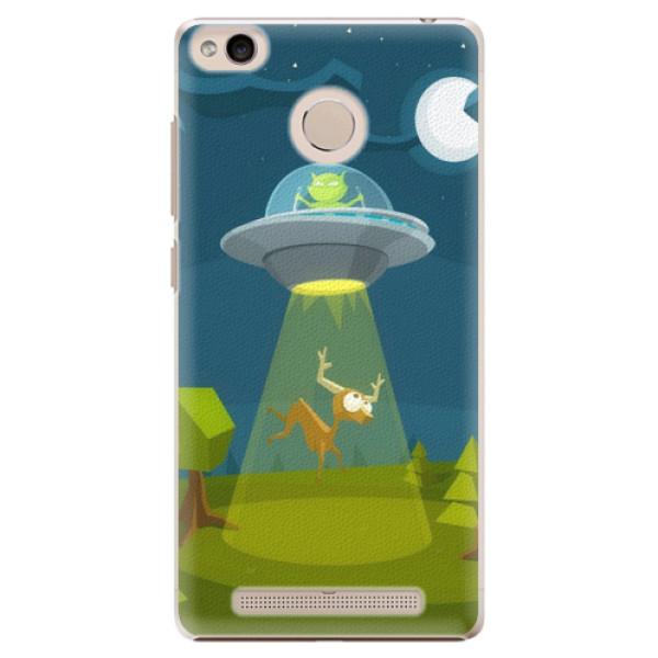 Plastové pouzdro iSaprio - Alien 01 - Xiaomi Redmi 3S