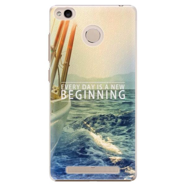 Plastové pouzdro iSaprio - Beginning - Xiaomi Redmi 3S