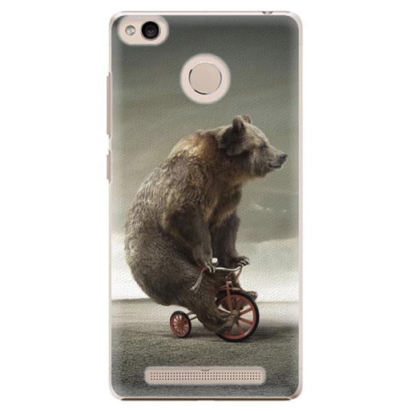 Plastové pouzdro iSaprio - Bear 01 - Xiaomi Redmi 3S