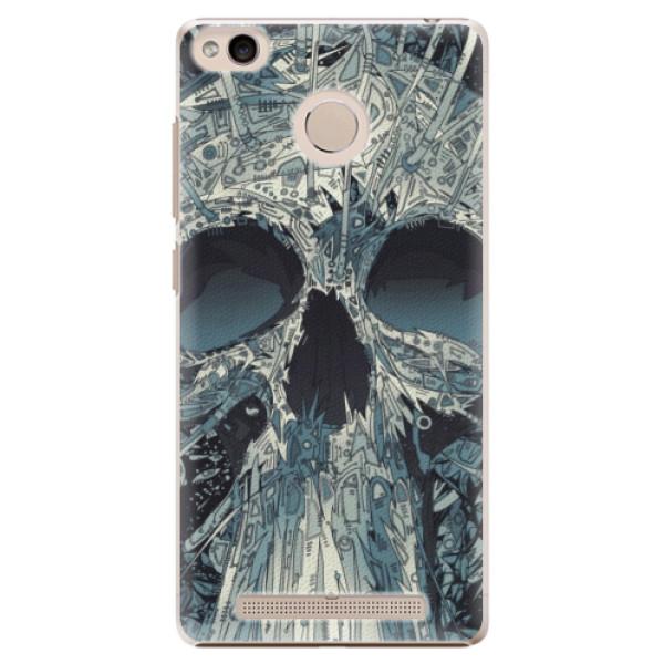 Plastové pouzdro iSaprio - Abstract Skull - Xiaomi Redmi 3S
