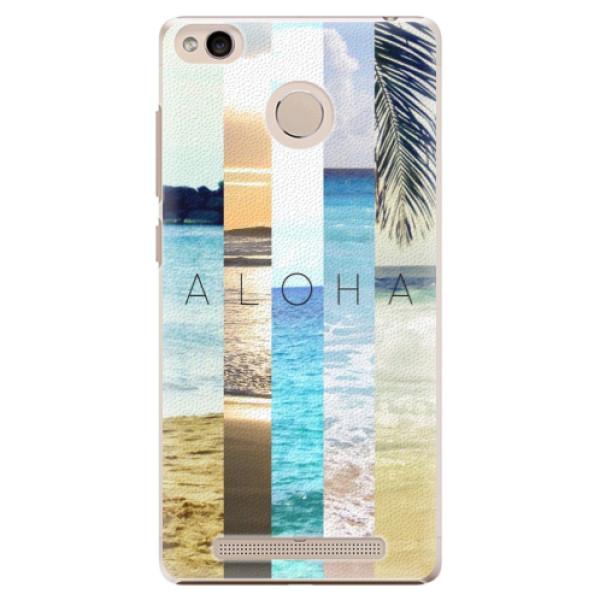 Plastové pouzdro iSaprio - Aloha 02 - Xiaomi Redmi 3S